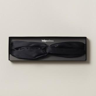 Love & Lore Love And Lore Silk Sleep Headband Black