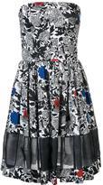 Sophie Theallet floral print flared dress - women - Silk/Cotton - 6