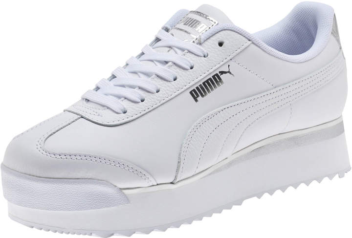 a7043bb3af0 Roma Amor Leather Metallic Women's Sneakers