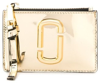 Marc Jacobs metallic gold purse