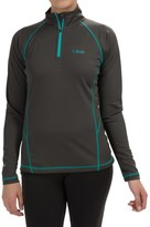 Rab DRYflo® 150 Base Layer Top - Zip Neck, Long Sleeve (For Women)