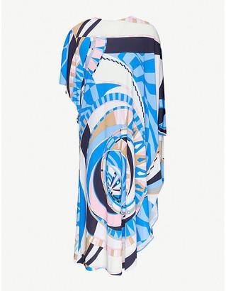 Emilio Pucci Printed woven midi dress