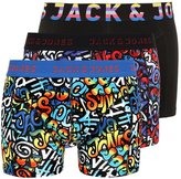 Jack & Jones Jacshow 3 Pack Shorts Chinese Red