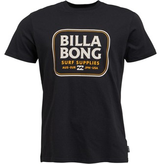 Billabong Mens Jackson Short Sleeve T-Shirt Black