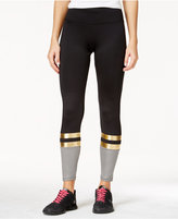 Energie Active Juniors' Claire Striped Colorblocked Leggings