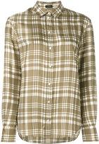 Joseph checked classic shirt - women - Silk - 36
