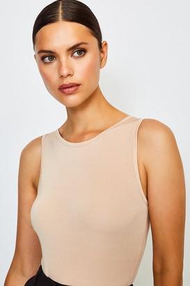 Karen Millen Smoothing Essentials Power Mesh High Neck Body
