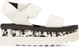 Stella McCartney Rubber wedge sandals