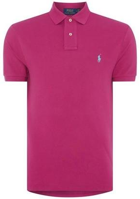 Polo Ralph Lauren Slim Fit Stretch Mesh Polo Shirt