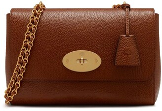 Mulberry Medium Lily Oak Natural Grain Leather