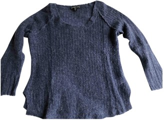 James Perse Blue Cashmere Knitwear