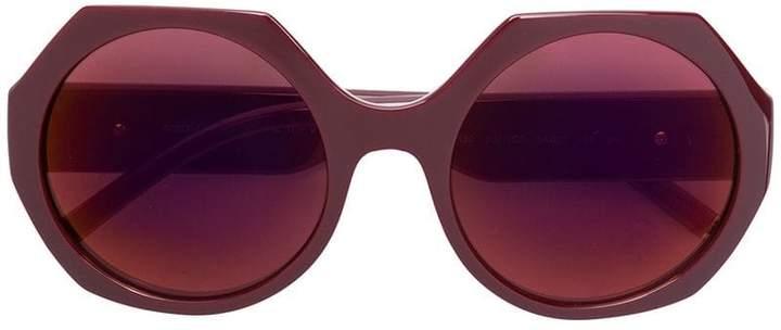 Dolce & Gabbana Eyewear octagonal frame sunglasses