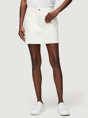 Frame Coated Le Mini Skirt