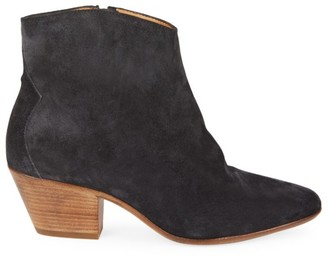 Isabel Marant Dacken Suede Ankle Boots