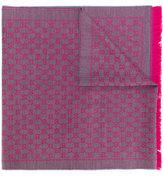 Gucci GG Jacquard monogram scarf - women - Wool - One Size
