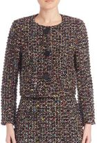 Escada Wool-Blend Tweed Jacket