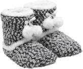M&Co Totes bobble knit bootie slippers