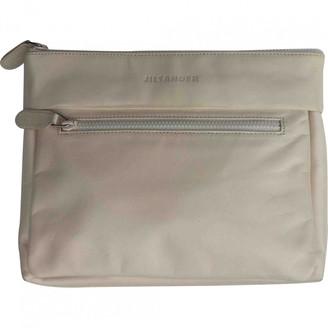 Jil Sander Beige Leather Clutch bags