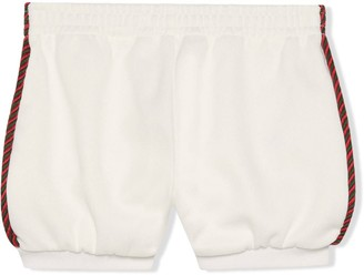 Gucci Kids Web Trim Shorts
