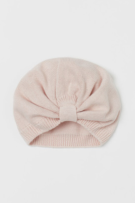 H&M Knitted cotton turban