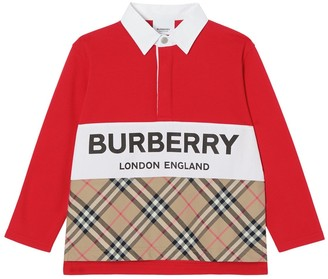 Burberry Cotton Piquet Polo