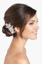 Luella Wedding Belles New York 'Luella' Czech Crystal & Freshwater Pearl Clip