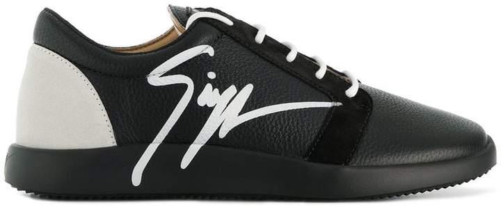 Giuseppe Zanotti Design side signed sneakers