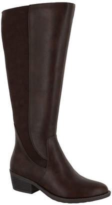 Easy Street Shoes Womens Cortland Dress Boots Block Heel