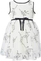 Popatu Embroidered Ballerina Tulle Dress