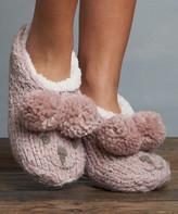 Lemon Legwear Women's Socks Buff - Buff Iceland Bear Slipper Socks - Women