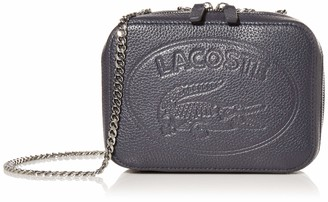 Lacoste Women Leather Crossover with Chain
