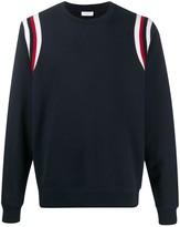 Sandro Paris striped long-sleeve jumper