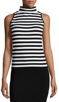 Milly High-Neck Sleeveless Tank