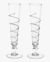 Juliska Amalia Champagne Flute Set