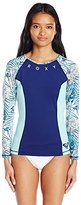 Roxy Women's Four Shore Long Sleeve Rashguard