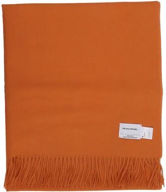 The Inoue Brothers Orange Large Brushed Stole