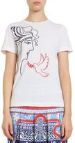 Mary Katrantzou Iven Embroidered Tee