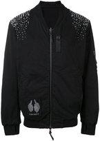 11 By Boris Bidjan Saberi bomber jacket - men - Cotton/Spandex/Elastane - M