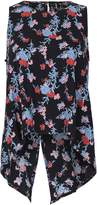 Izabel London Sleeveless Floral Print Top