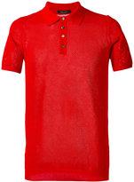 Roberto Collina plain polo shirt - men - Cotton - 48