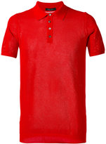 Roberto Collina plain polo shirt - men - Cotton - 50