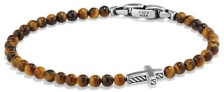 David Yurman Spiritual Beads Cross Station Bracelet