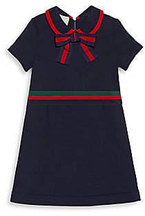 Gucci Little Girl's & Girl's Short Sleeve Shirt Dress