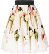 Dolce & Gabbana Gelato Print Skirt