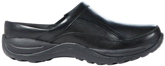 L.L. Bean L.L.Bean Women's Comfort Mocs, Leather Slide