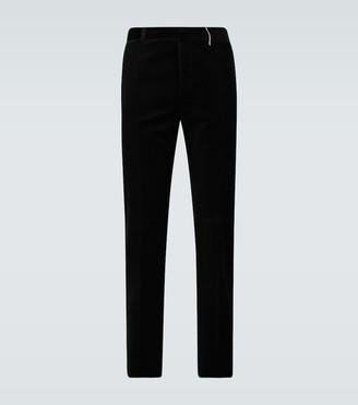 Rochas Romeo velvet pants