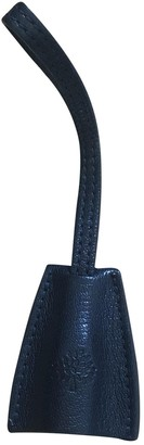 Mulberry Blue Leather Bag charms