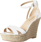 Nine West Women's Joker Synthetic Wedge Sandal