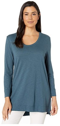 Lilla P Scoop Neck Tunic (Pond) Women's T Shirt