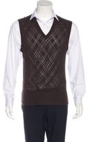 Neil Barrett V-Neck Sweater Vest